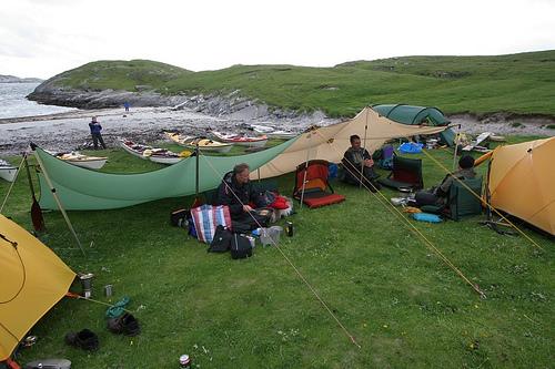 Lovund tarpläger - inte alltid solsken i norge heller ;)