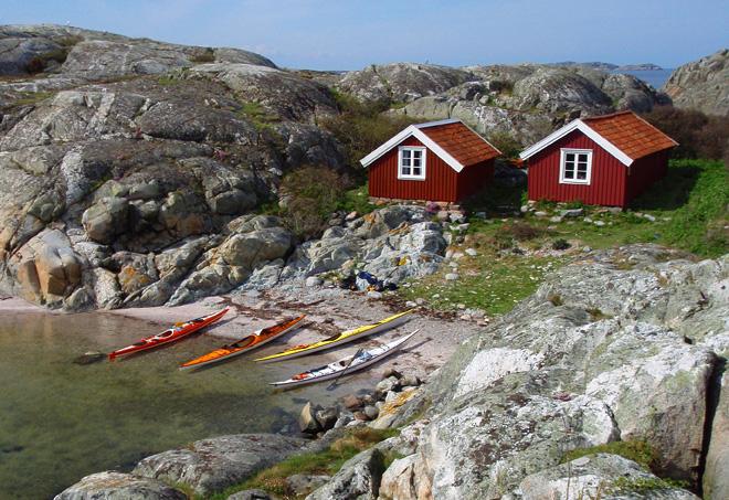 Stugorna på Hamnerö