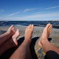 Fötter på Håkanskär