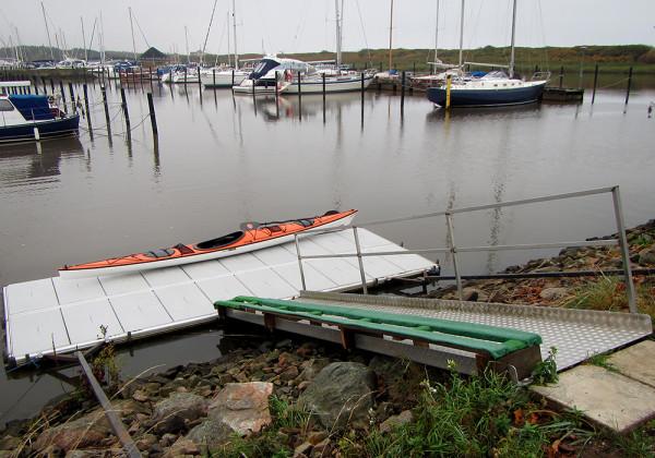 Bra sjösättningsbrygga