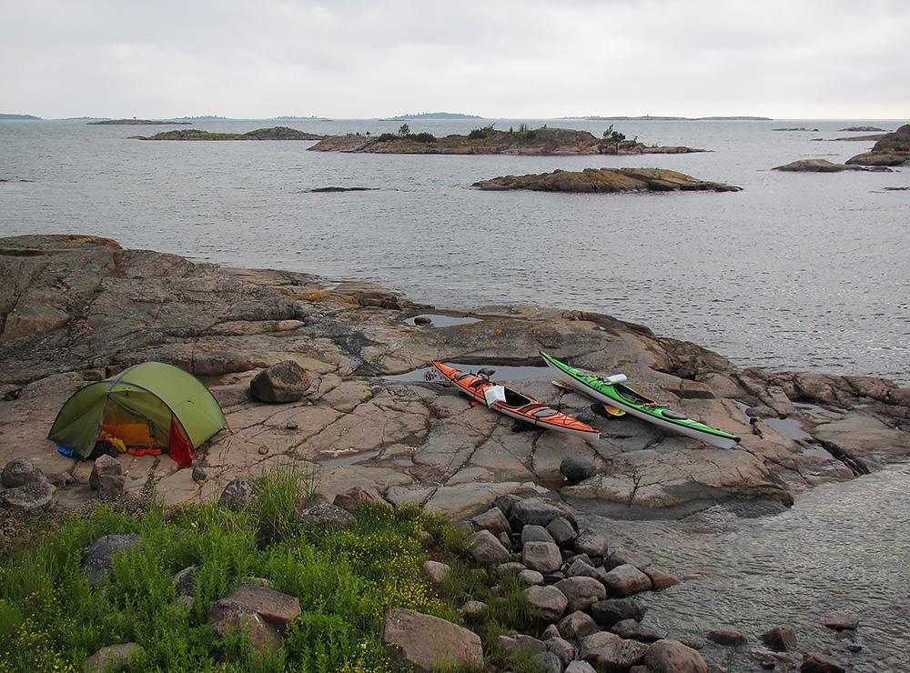 Ringskärsflatholmen precis vid Händelöp