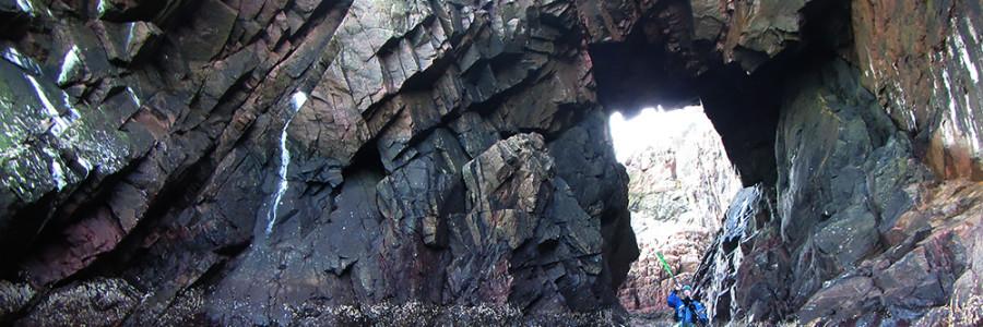 Tunnelpaddling vid Kullaberg