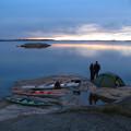 Harstena - fin tältplats nära vattnet