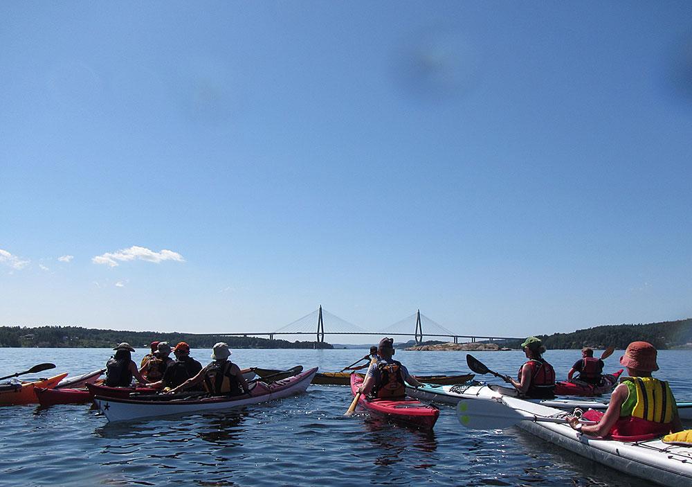 På väg mot Uddevallabron