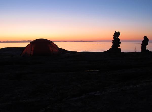Soluppgång på Lövskär