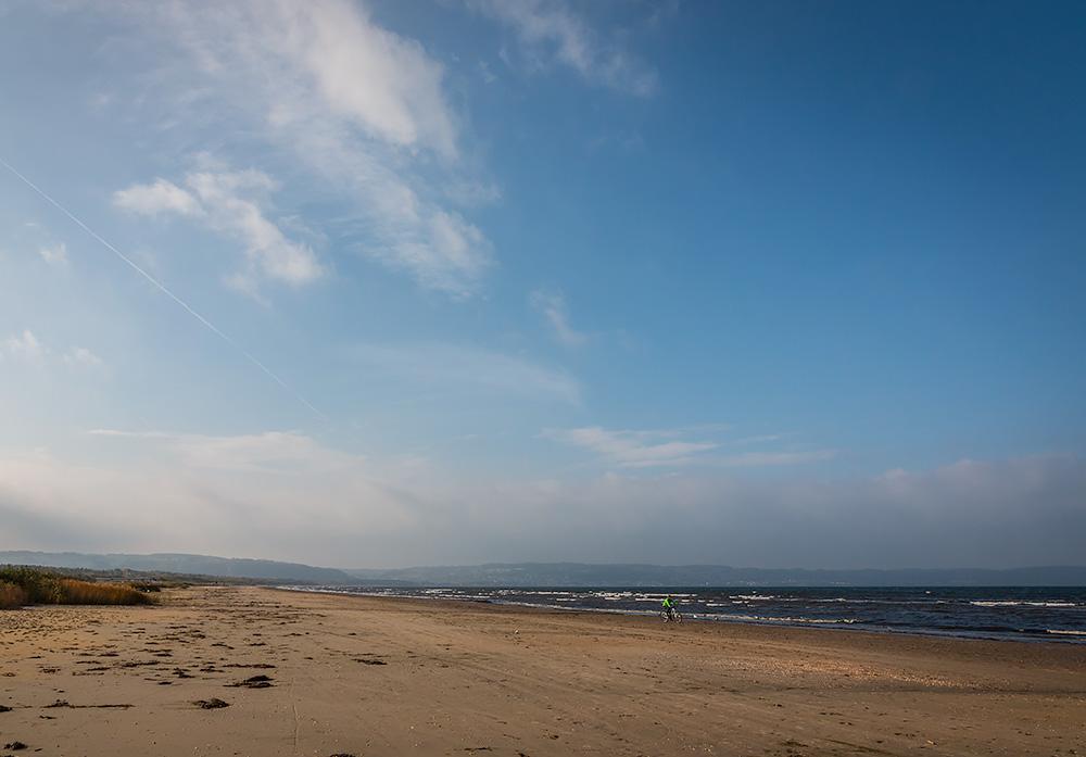 Skummeslövstrand, strandnära cykling med mtb