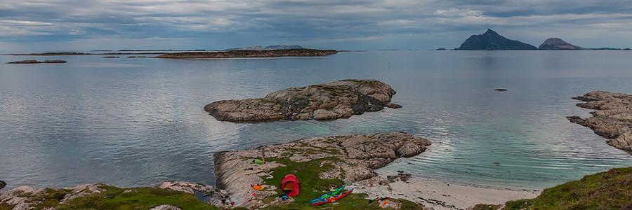 Nästan höghögvatten på Indre Korsholmen